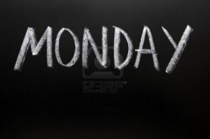 11939439-monday-written-with-chalk-on-a-blackboard
