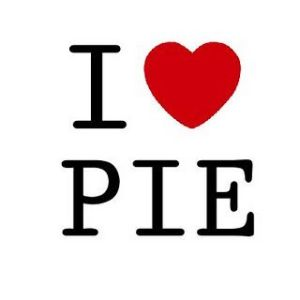 Well Pai, not Pie, but you get my point. Don't you?